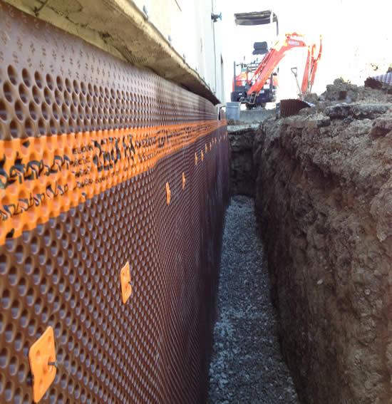 Exterior Waterproofing Basement