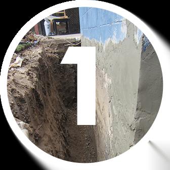 Waterproofing Keypoint number 1